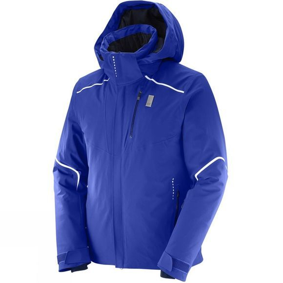 Salomon Mens Whitelight Jacket Surf The Web