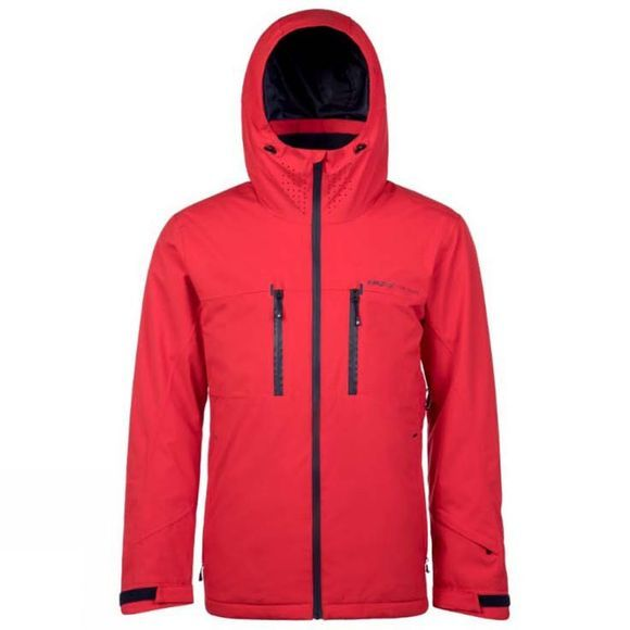 Protest Mens Clavin Jacket Red Burn