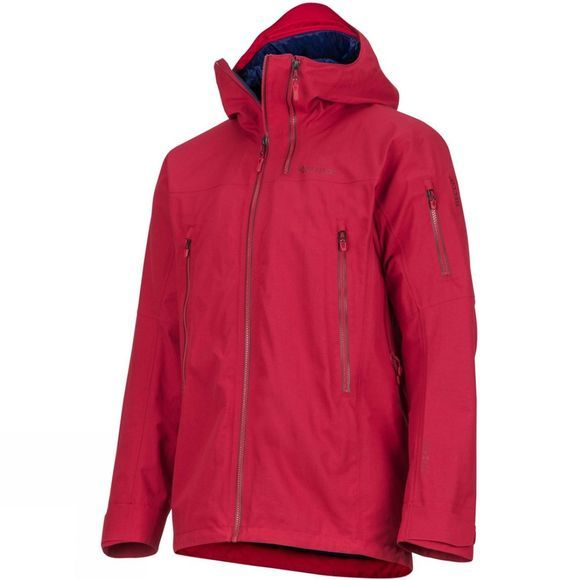 Marmot Mens Freerider Jacket Sienna Red