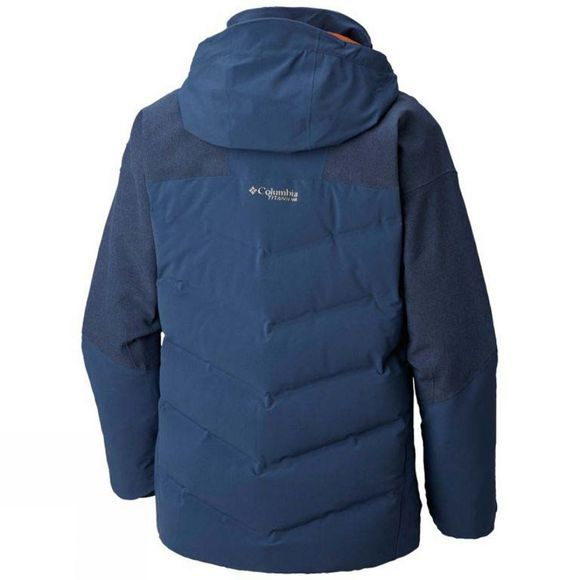 Columbia Mens Powder Keg II Down Jacket Dark Mountain