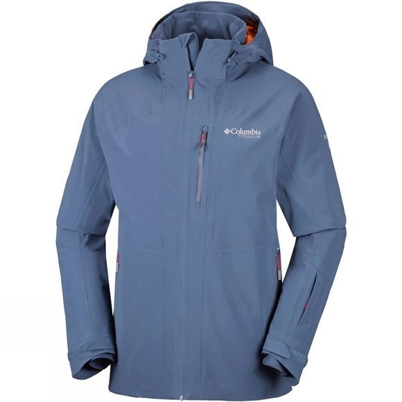 Columbia Mens Snow Rival Jacket Dark Mountain