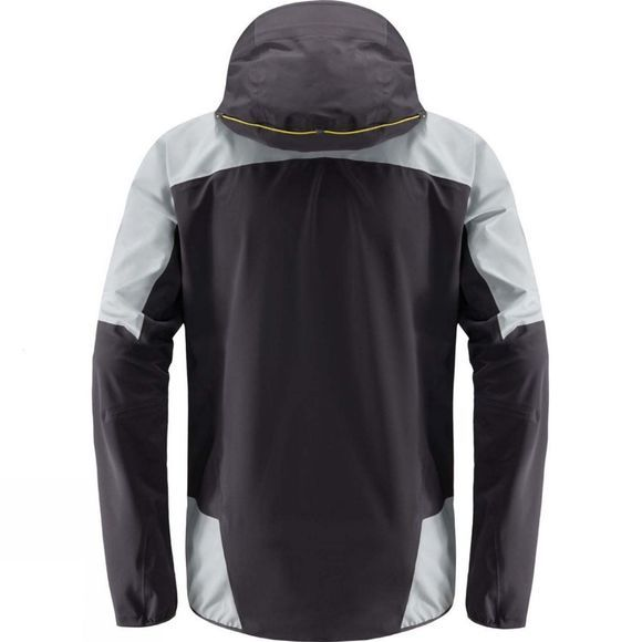 Haglofs Mens L.I.M. Touring Proof Jacket Slate/Stone Grey