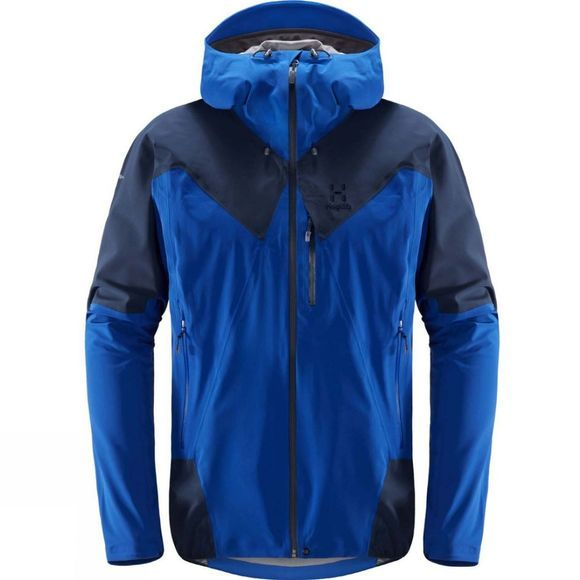 Haglofs Mens L.I.M. Touring Proof Jacket Cobalt Blue/Tarn Blu