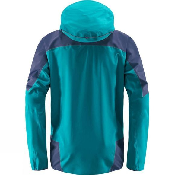 Haglofs Mens L.I.M. Touring Proof Jacket Alpine Green/Tarn Bl