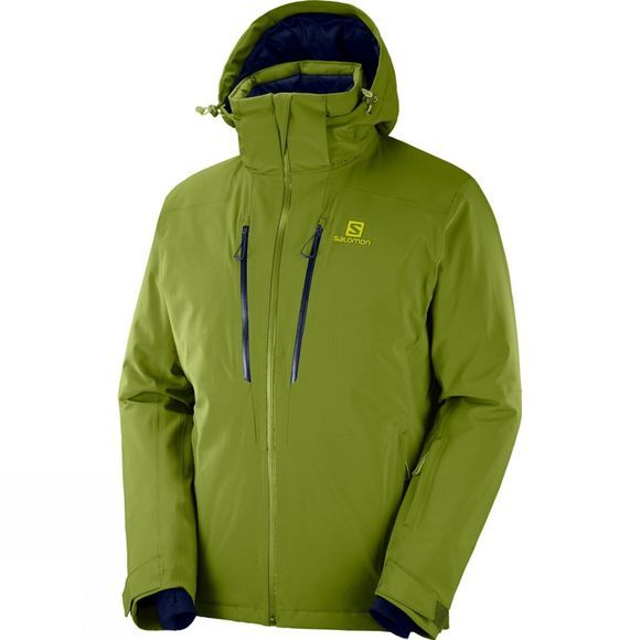 Salomon Mens Icefrost Jacket Avocado