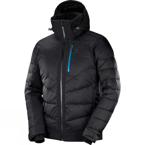 Salomon Mens Iceshelf Jacket Black/Forged Iron