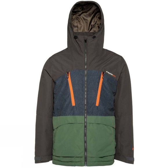 Protest Men's Buston Snow Jacket Amazone