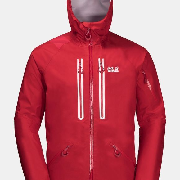 Jack Wolfskin Exolight Mountain Jacket Red Lacquer