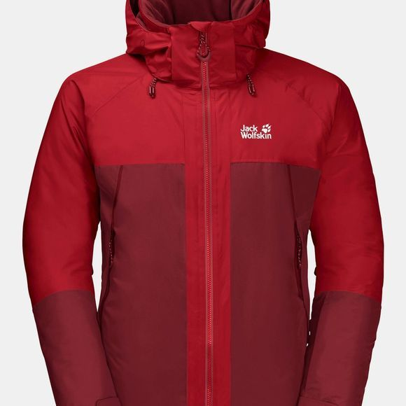 Jack Wolfskin Powder Mountain Jacket Dark Lacquer Red