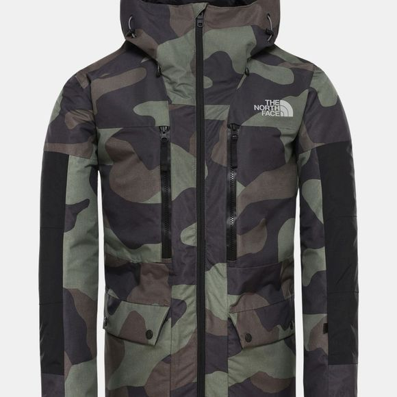 The North Face Mens Goldmill Parka Four Leaf Clover Terra Camo Print