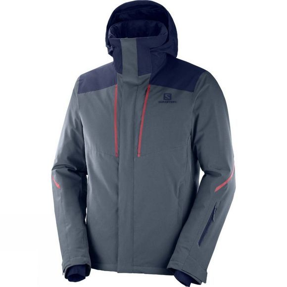 Salomon Stormseason Jacket Ebony/Night Sky