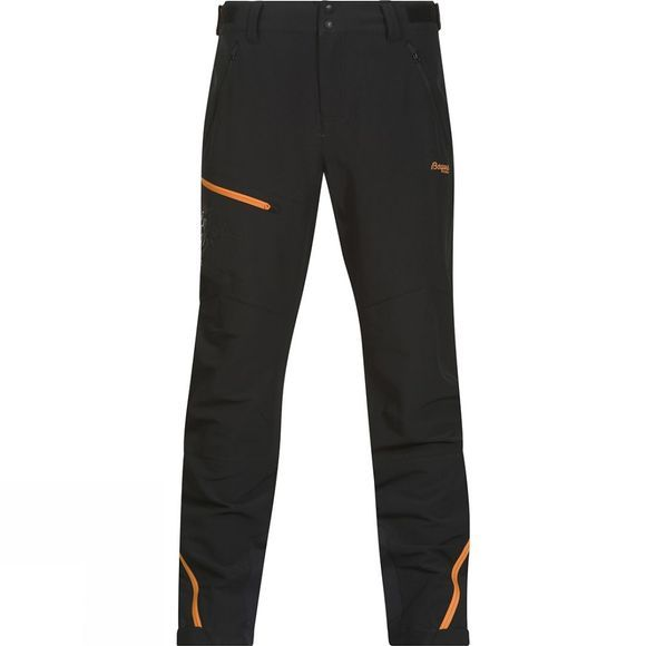 Bergans Mens Osatind Pants Black / Pumpkin