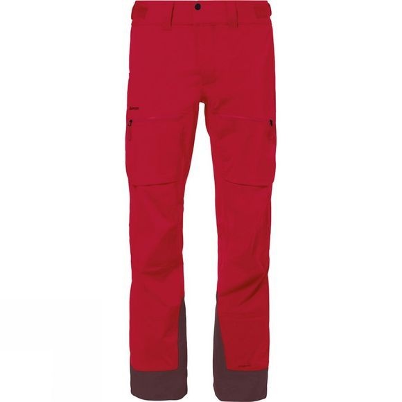 Vaude Mens Boe Pants Indian Red / Raisin