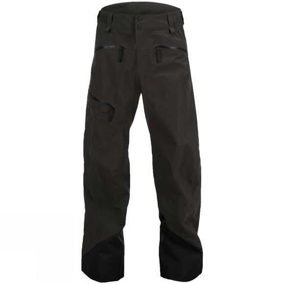 Peak Performance Mens Teton Ski Pants Olive Extreme