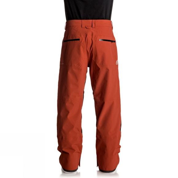 Quiksilver Mens TR Stretch Snow Pants Ketchup Red