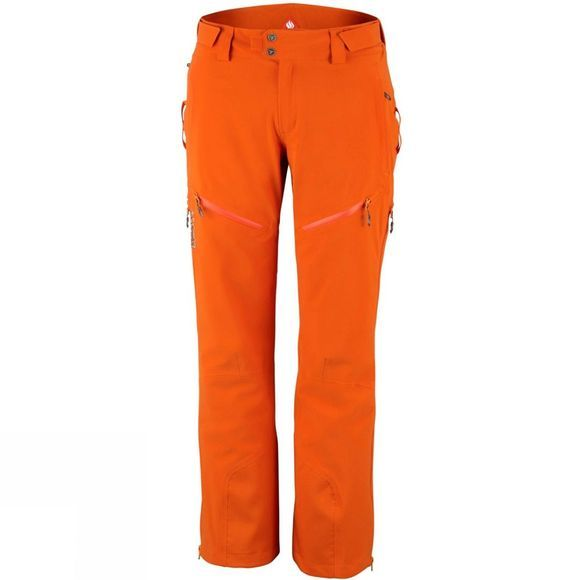 Columbia Mens Powder Keg II Pant Backcountry Orange