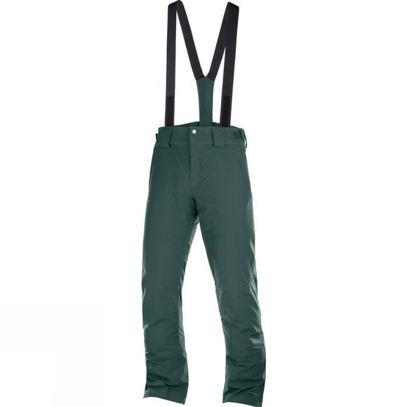 Salomon Mens Stormseason Pant Green Gables