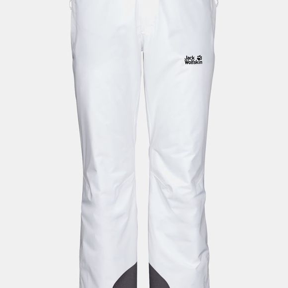 Jack Wolfskin Powder Mountain Pants White Rush