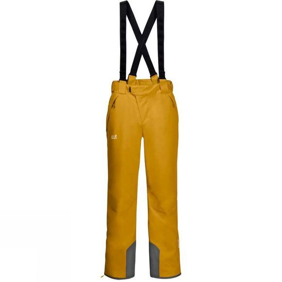Jack Wolfskin Exolight Pants Golden Yellow