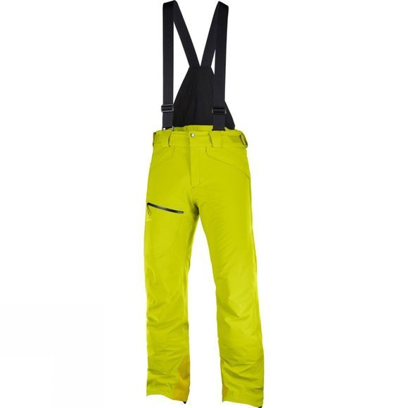 Salomon Mens Chill Out Bib Pant  Citronelle