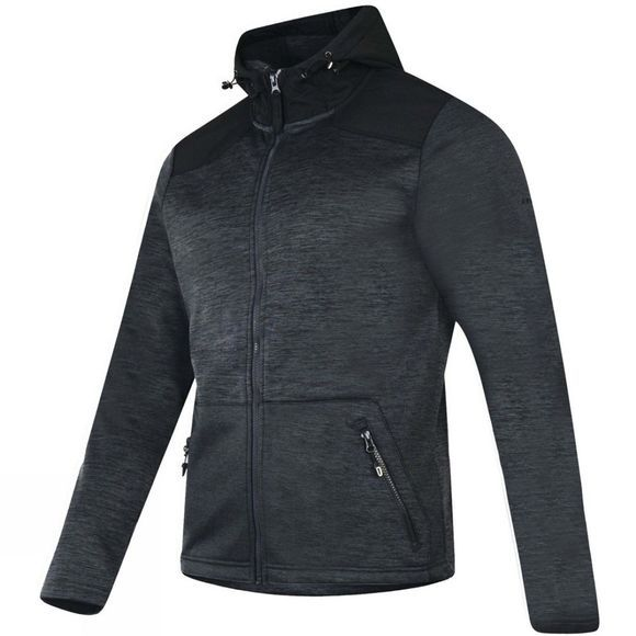 Dare 2 b Mens Variance Softshell Jacket Ebony Grey/Black