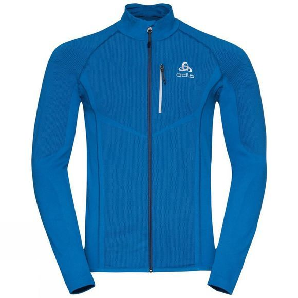 Odlo Mens Velocity Jacket Directoire Blue - Estate Blue