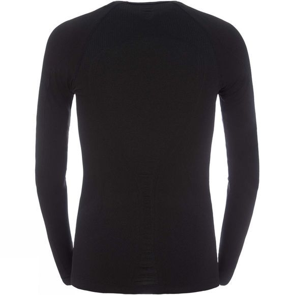 The North Face Mens Hybrid Long Sleeve Crew Neck TNF Black