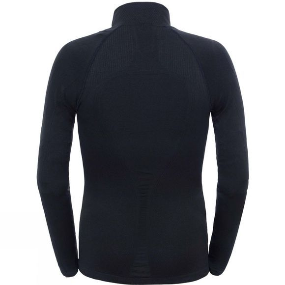 Mens Hybrid L/S Zip Neck Top