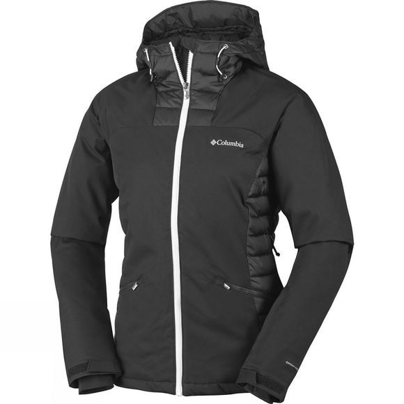 Columbia Womens Salcantay Hooded Jacket Black / White