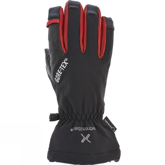 Extremities Glacier Glove Gore-Tex Black/Red