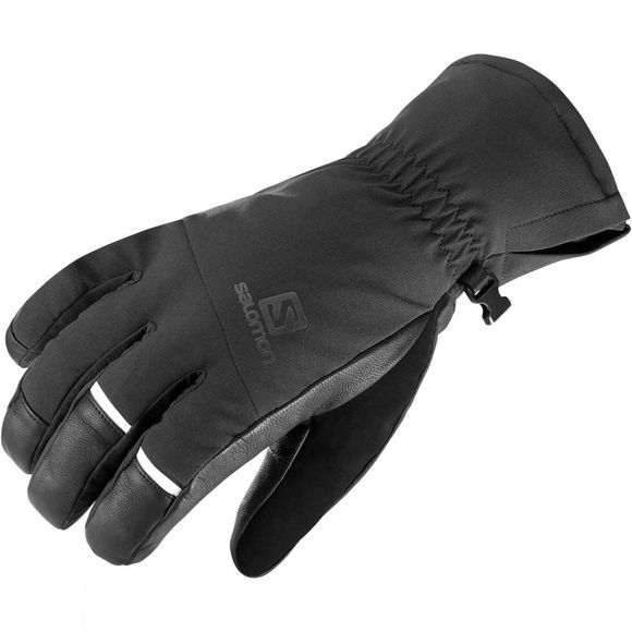 Salomon Mens Propeller Dry Ski Gloves Black/Black