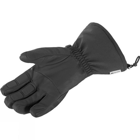 Salomon Mens Propeller Long Gloves Black