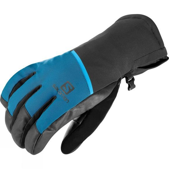 Salomon Mens Propeller One Glove Moroccan Blue/Black