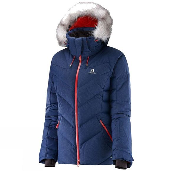 Salomon Womens Icetown Jacket Wisteria Navy
