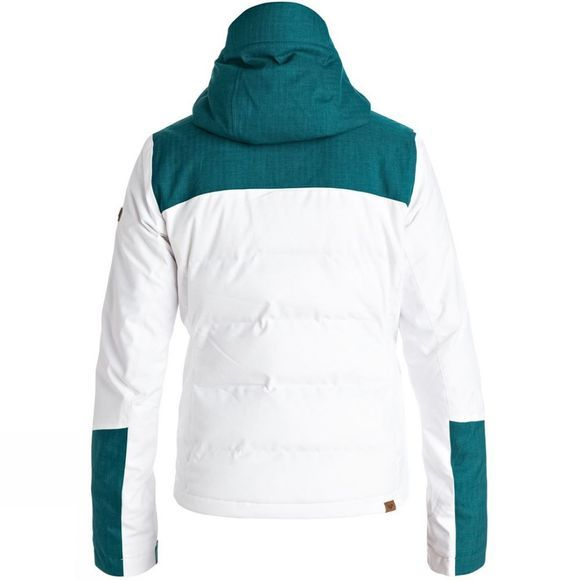 Roxy Womens Flicker Jacket Bright White