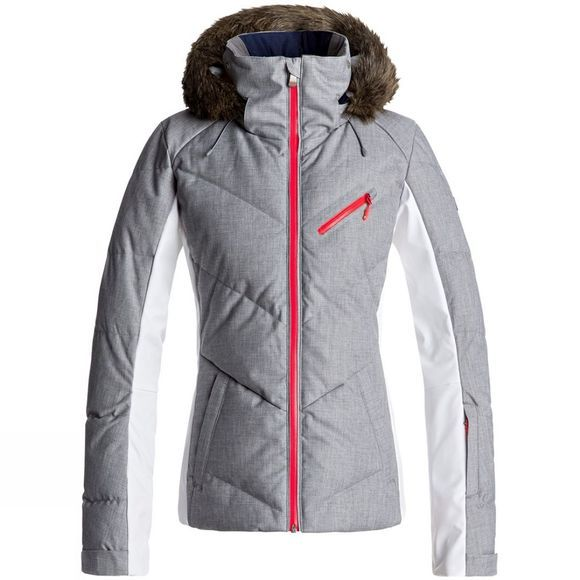 Roxy Womens Snowstorm Jacket HERITAGE HEATHER