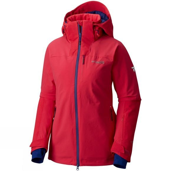 Columbia Womens Powder Keg Jacket PUNCH PINK