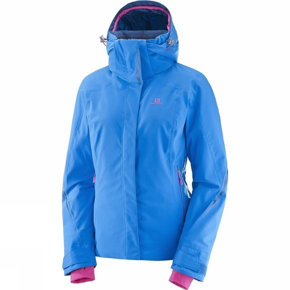 Salomon Womens Brilliant Jacket Sky Diver