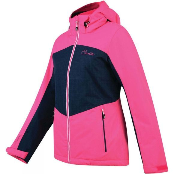 Dare 2 b Womens Beckoned II Jacket Cyber Pink/Admiral Blue