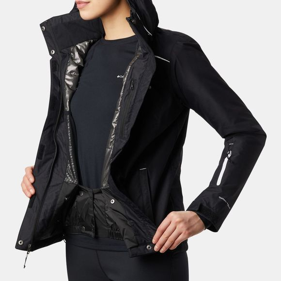 Columbia Womens On The Slope Jacket Black