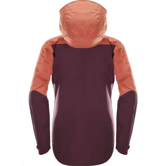 Haglofs Womens Khione Insulated Jacket Dusty Rust/Aubergine