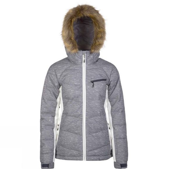 Protest Womens Peppe Jacket Dark Grey