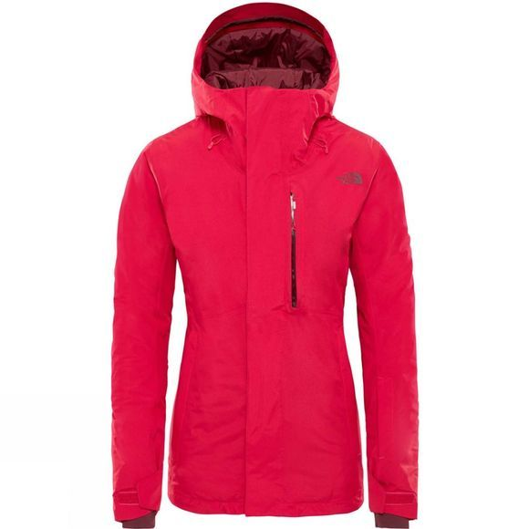 The North Face Womens Descendit Jacket Cerise Pink