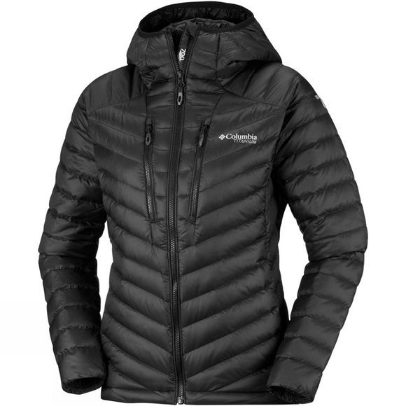Columbia Womens Altitude Tracker Hooded Jacket Black