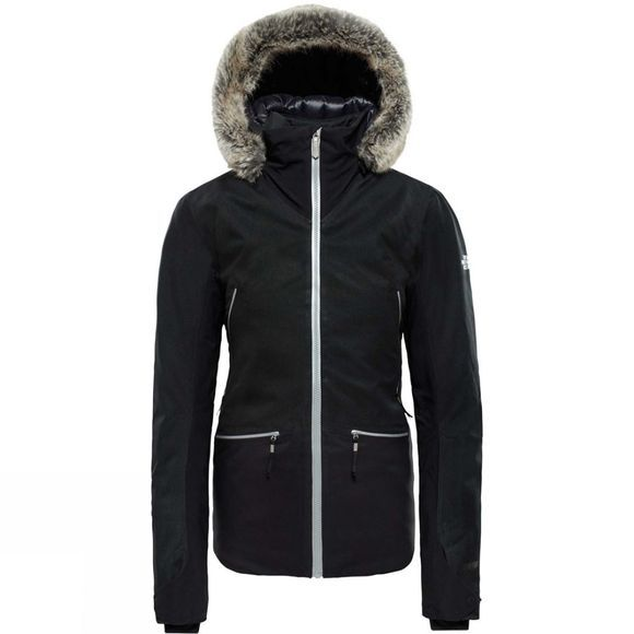The North Face Womens Diameter Down Hybrid Jacket TNF Black Heather/TNF Blk