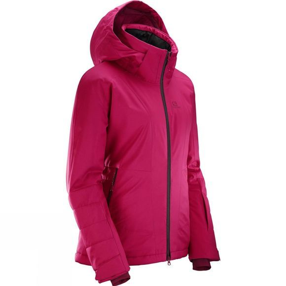 Salomon Womens All Good Jacket Cerise