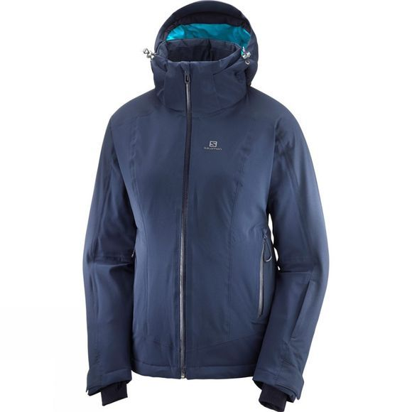 Salomon Womens Brilliant Jacket Night Sky