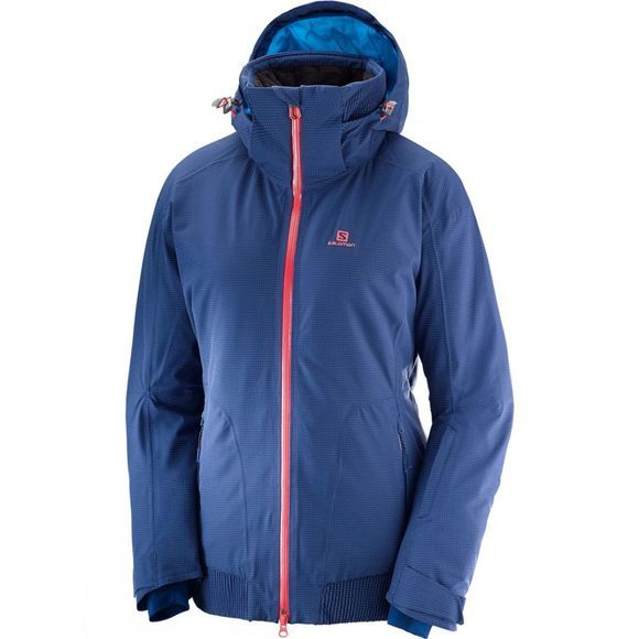Salomon Womens Catch Me Jacket Medieval Blue