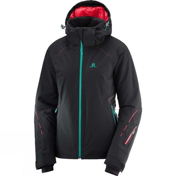 Salomon Womens Icecrystal Jacket Black