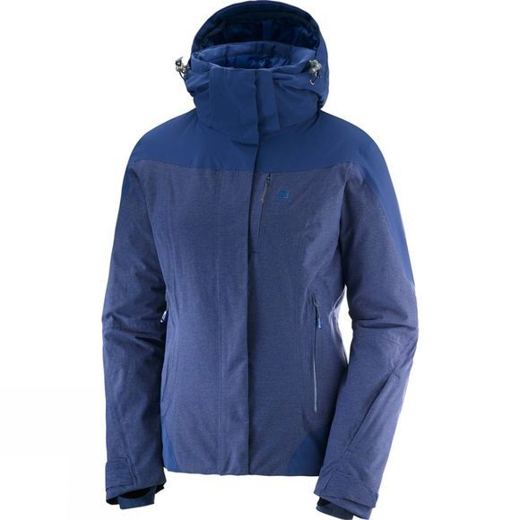 Salomon Womens Icerocket Jacket Medieval Blue